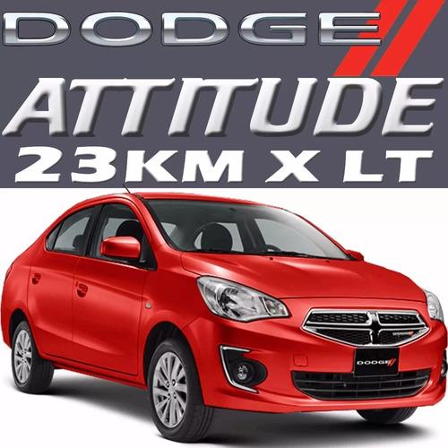 2020 dodge attitude sxt at 3cil 1.2l ac 76hp touch arh mfin