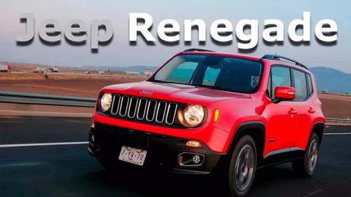 2020 jeep renegade latitude 4cil 130hp 1.8 piel gps r17 mfin