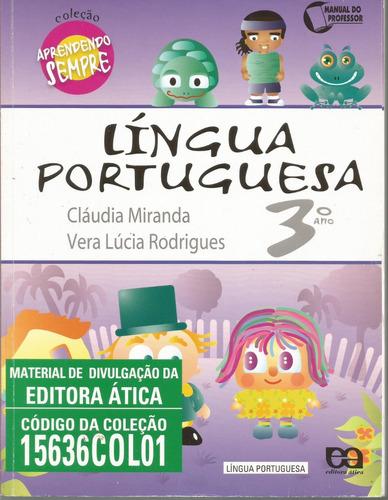 2020- livro lingua portuguesa 3.ano - aprendendo sempre