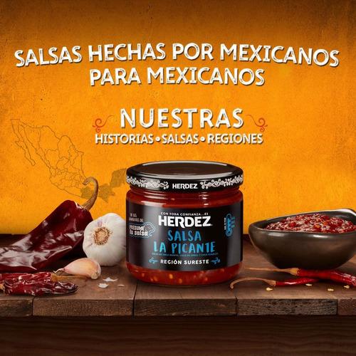 2020  salsa herdez  100% mexicana 0axaca tac0s burrit0s pic