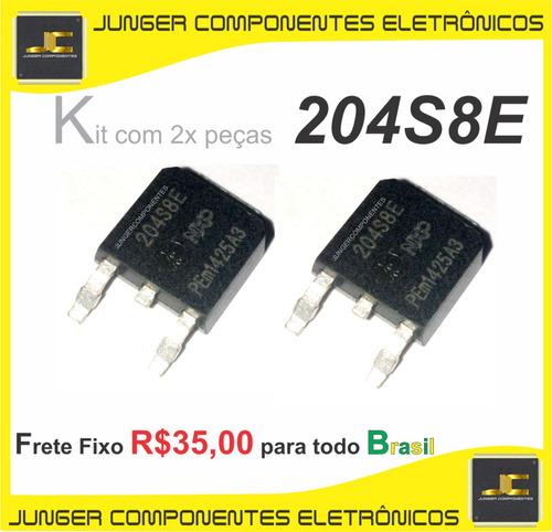 204s8e - bta204s-800e - bta204s-800 -  204s - to-252 - dpak - tic, thyristor, scr, triac - kit com 2x peças