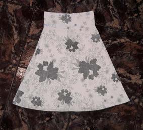 d6ef267d72 Pollerita De Cotton Saten Con Flor. Largas Otras Telas - Otros ...
