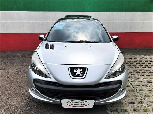 207 quiksilver 1.6 flex, completo + teto solar. lindo carro!