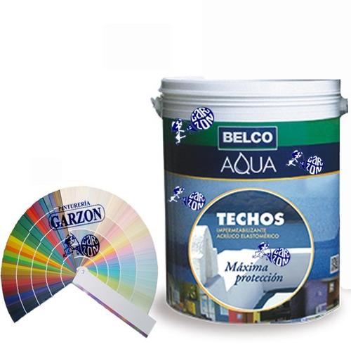 20k impermeabilizante belco aquatechos colores pastel a elec