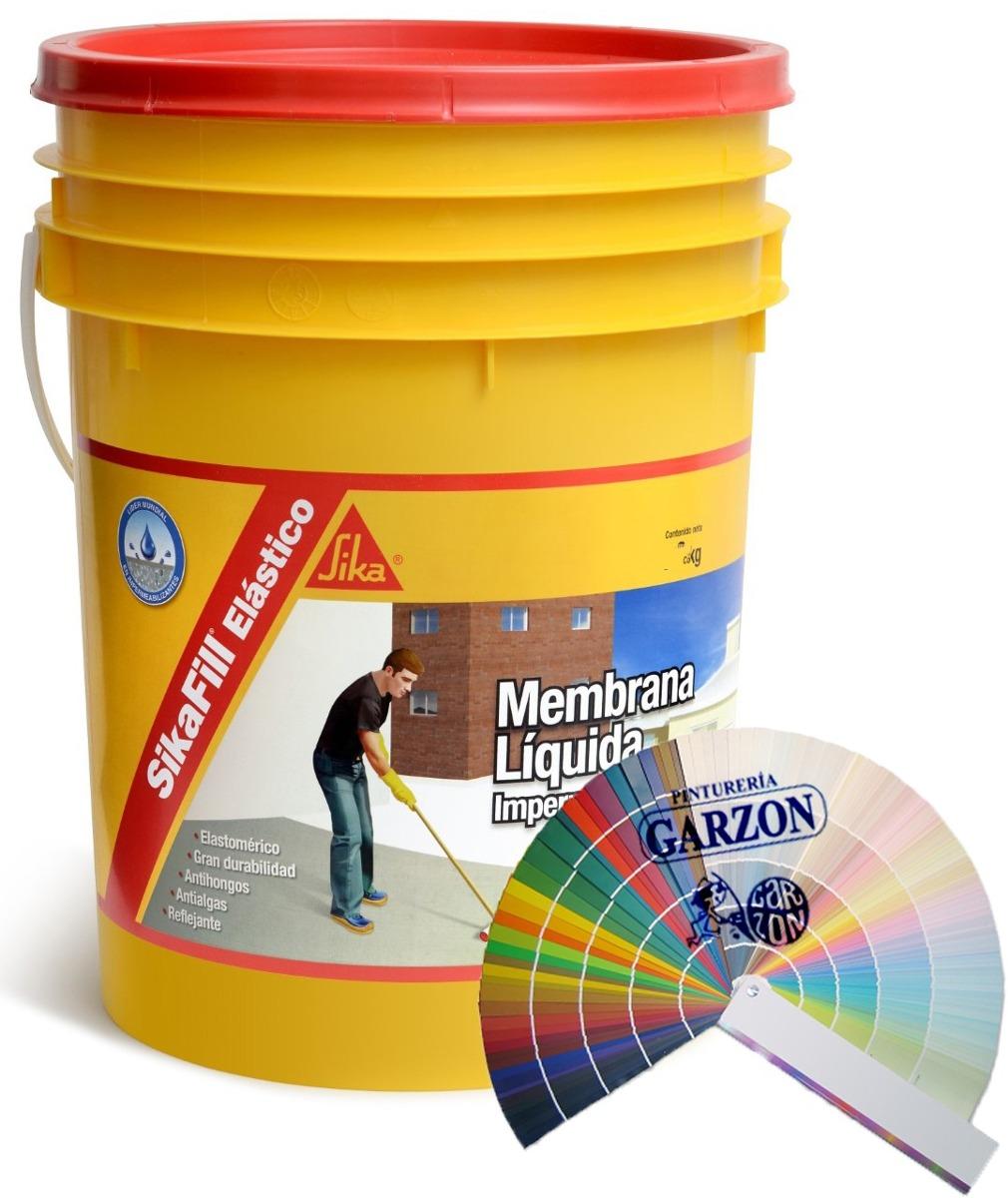 20k membrana impermeabilizante sika color pastel a - Sika pintura impermeabilizante ...