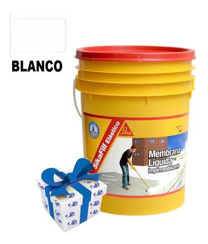 20k membrana impermeabilizante sika fill 4 colores + regalo!