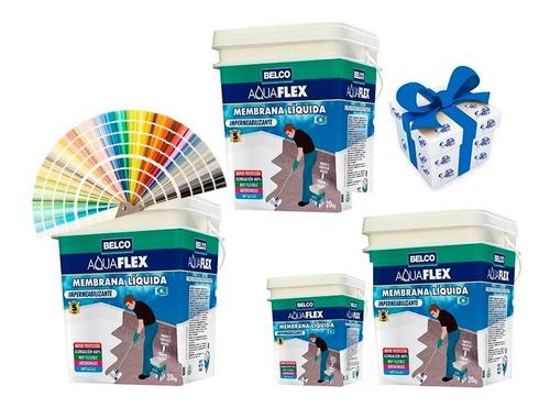 20kg+4kg membrana liquida 5 colores aquaflex belco