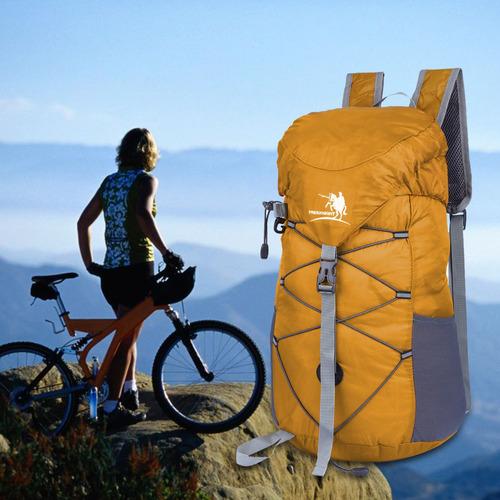 20l al aire libre viajes montañismo bolsa plegable paquete
