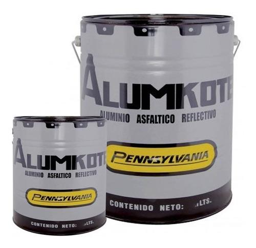 20lts + 4lts alumkote aluminio asfaltico pennsylvania !