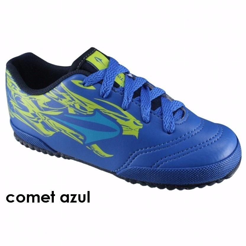 20%off Chuteira Futsal Topper Comet Infanto-juvenil - R  69 c71749257db0c