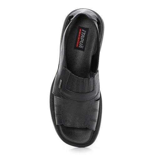 20%off sandália masculina itapuã couro legítimo 4504s13