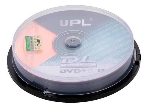 20pcs 215min 8x dvd + r dl 8.5gb disco en blanco disco dvd