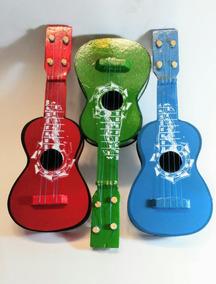 Guitarra Madera 20pz Artesanal Juguete De Colores Mediana 80POwkNnX