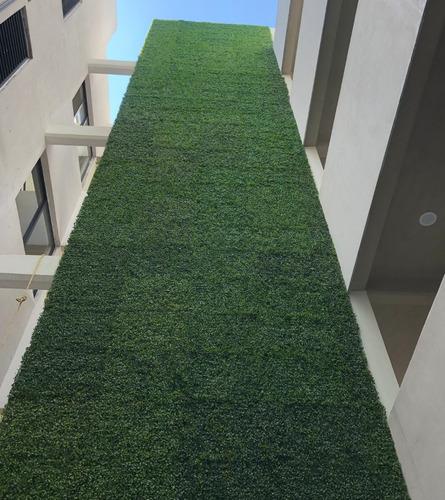 20pza muro verde follaje artificial sintetico jardin planta