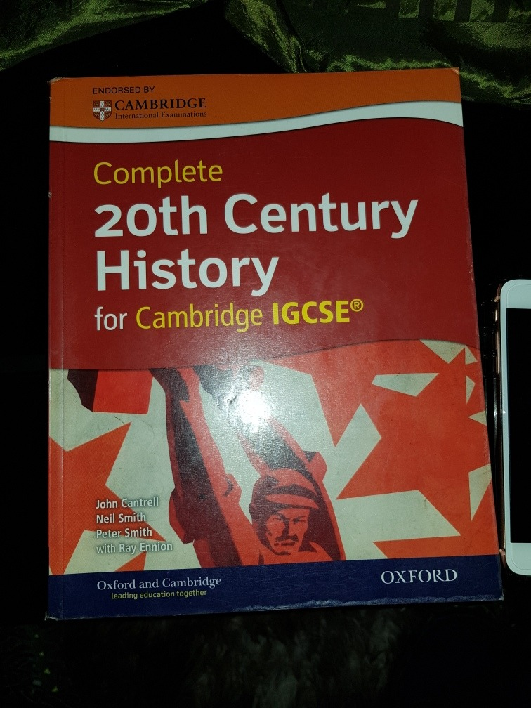 Twentieth century history igcse