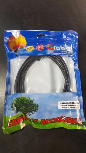 20u cables hdmi 2mts full hd 1080p dvd blu-ray ps3