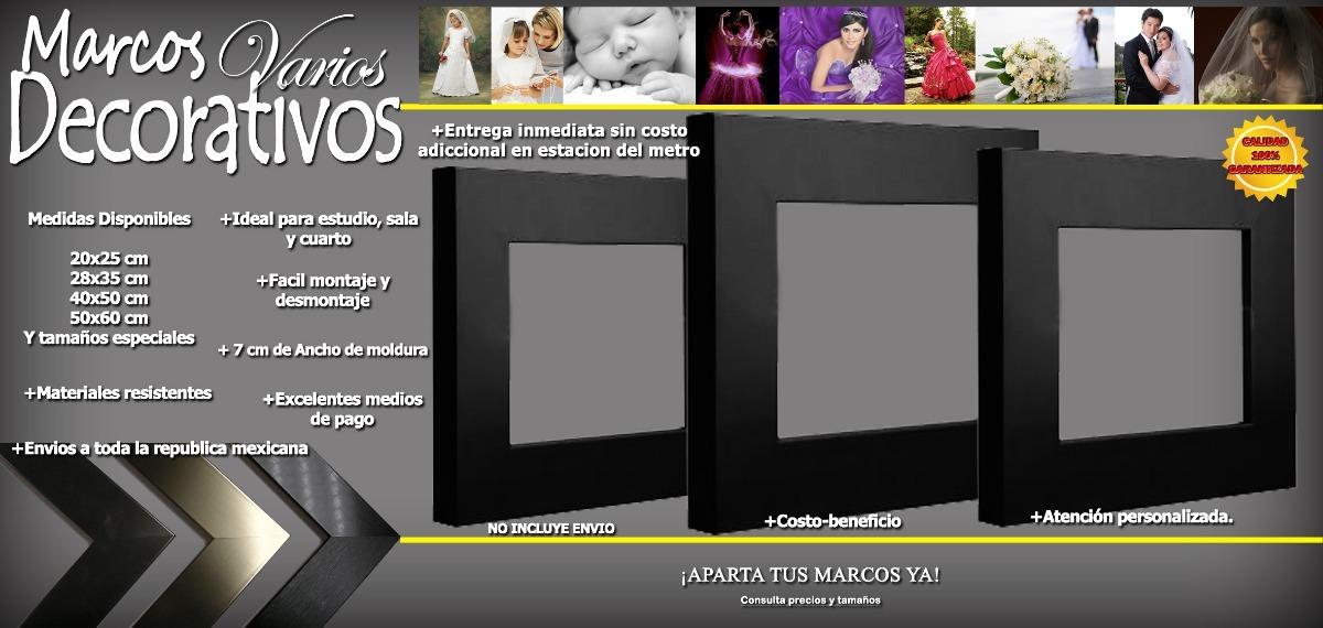 20x25 Cm Marco Lujo Foto Pared Decoracion Porta Retrato - $ 300.00 ...
