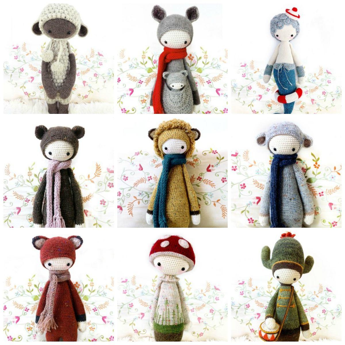21 + 1 Patrones Lalylala - Amigurumi - Crochet - Español - $ 245,00 ...