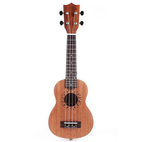 21 23'' ukulele uke concierto 15/17 trastes del instrumento