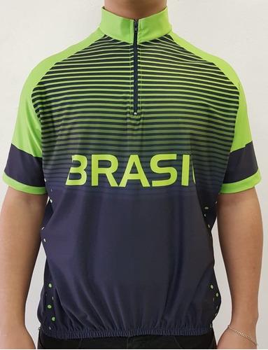 21 camisas bike ciclismo personalizada manga longa dry sport