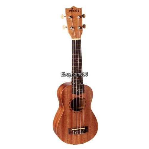 21 exquisita soprano de sapele ukulele instrumento musical