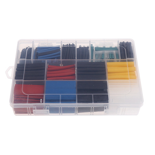 2:1 Heat Sink Tubing Tube Sleeving Wire Cable 12 Sizes 1-10m
