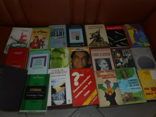 21 livros vários assuntos compre para revender muito barato