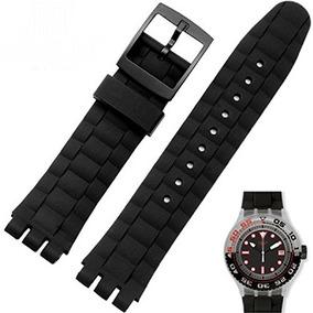 Repuesto Silic Swatch Banda Reloj De Mm 21 Deporte Correa 0wv8NnmO