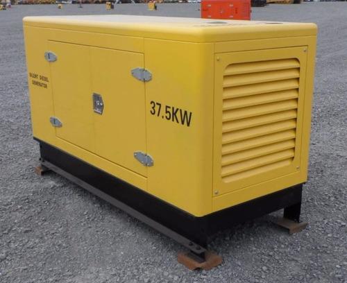 21) planta de luz y emergencia 37.5 kw/50kva nueva