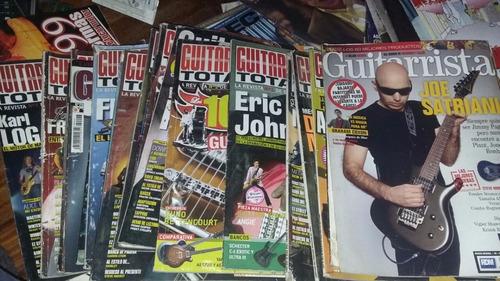 21 revistas guitarristas 2005/06 (venta o permuta)