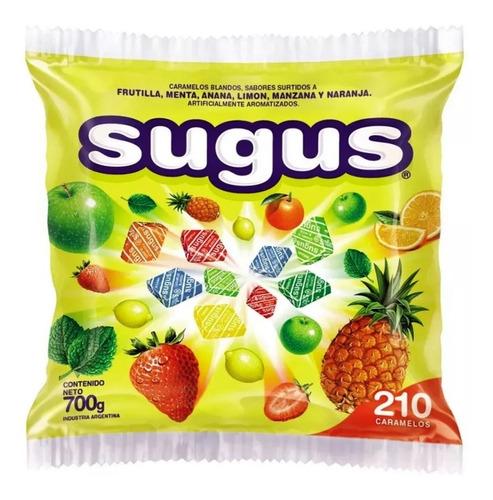 210 caramelos sugus bolsa 700gr muy barato en la golosineria