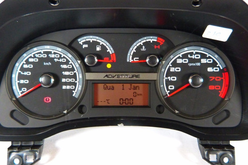 210 palio g3 painel velocimetro conta giros 51832989 /