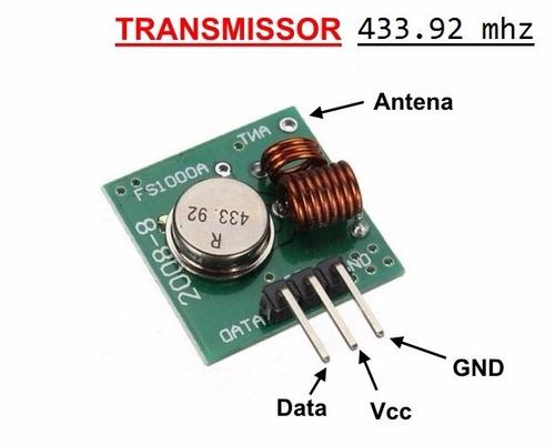 210 transmissores 433.92 mhz