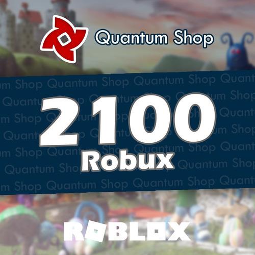 2100 robux - roblox entrega inmediata mercadolider gold