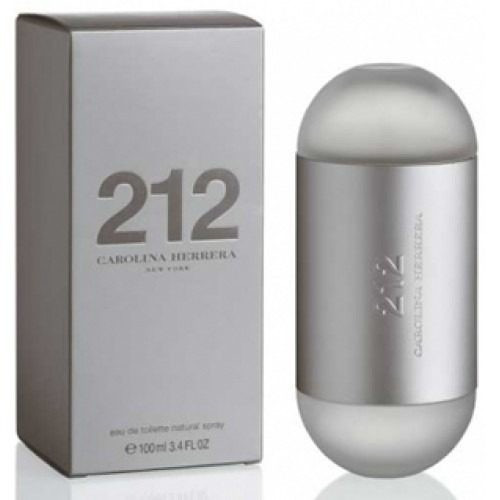 212 mujer carolina herrera perfume 100ml perfumesfreeshop!!