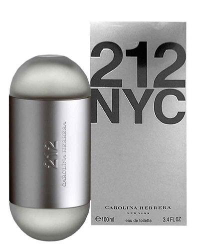 212 mujer carolina herrera perfume x100ml perfumesfreeshop!!
