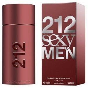 212 sexy men carolina herrera 100 ml