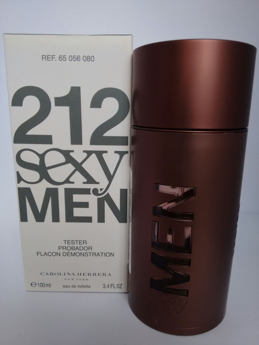 f50d7058f 212 sexy men carolina herrera masculino edt 100ml - tester. Carregando zoom.