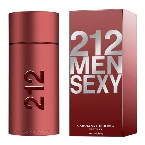 212 sexy men edt masculino 100 ml original lacrado