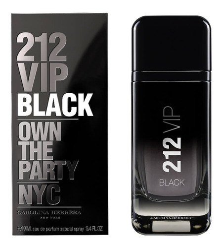 212 vip black 200ml masculino | original lacrado