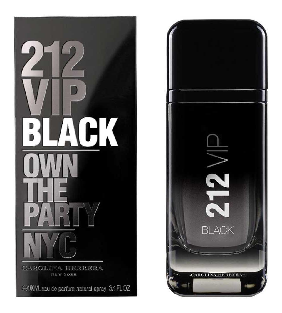 Orig 212 Perfume Perfumeria 50ml Carolina Herrera Black Vip sChxdQrt