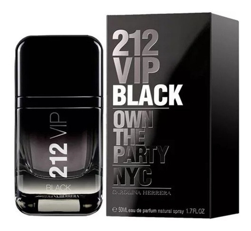 212 vip black eau de parfum 50ml perfume masculino
