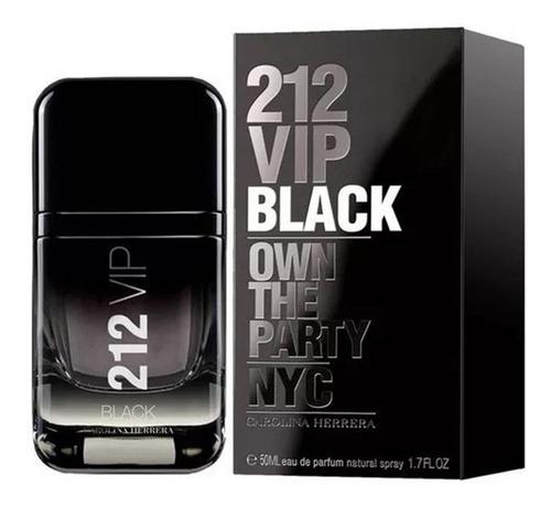212 vip black eau de parfum perfume masculino 50ml