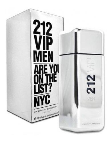 212 vip men masculino eau de toilette 100ml