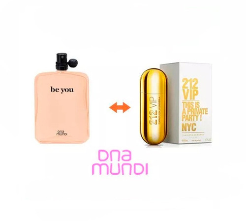212 vip perfume be you dnamundi original 100ml lacrado