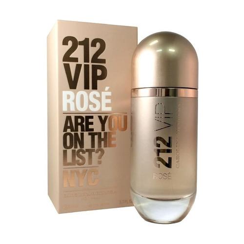 212 vip rosé carolina herrera edp x 50ml perfume mujer