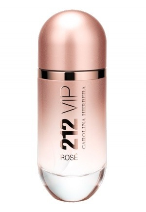 212 vip rose de carolina herrera edp 50ml importado