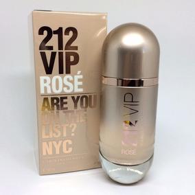 c0eaea39a 212 Vip Rose Pills - Perfumes Importados Carolina Herrera no Mercado Livre  Brasil