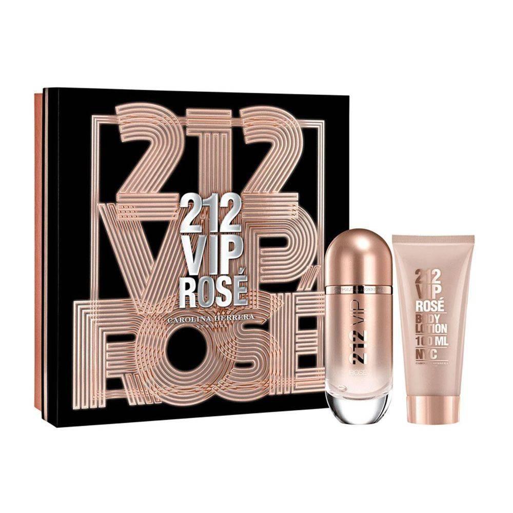 436f5844f4 212 Vip Rosé Feminino Eau De Parfum 80ml + Body Lotion 100ml - R ...