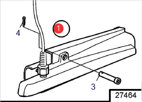 21375753 sensor direção lado boreste rabeta volvo penta dph